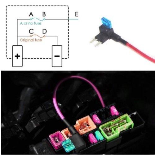 styleparts Mini extra Circuit zekeringhouder met 15A zekering