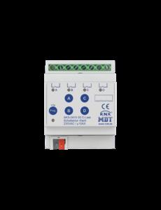 MDT 4 voudige  Schakelactoren AKS  Standaard 10A C-Last