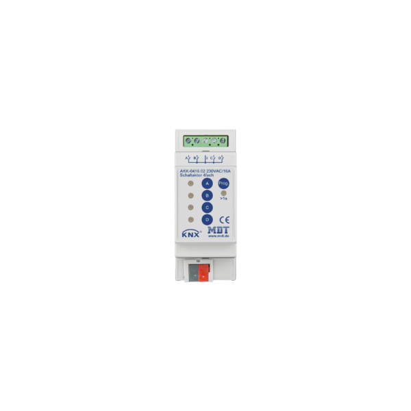 MDT 4 voudige Schakelactoren AKK  compact 16A 230Vac