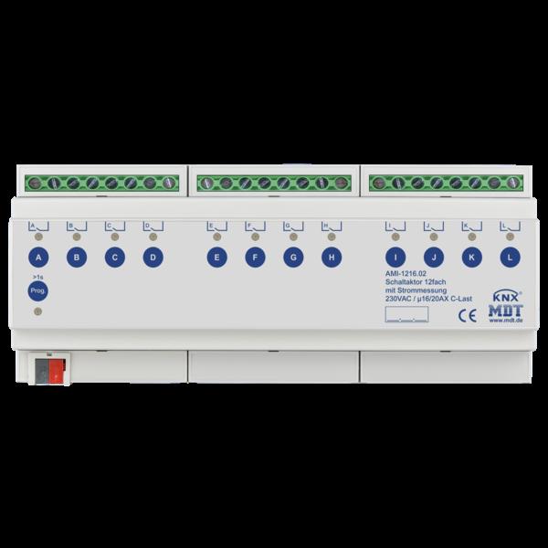 MDT Schakelactoren  AMI met  stroommeting 12 voudig 16/20A C-last 200µF