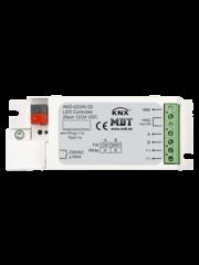 MDT 2 kanaals LED-controller Inbouw Voor 12 / 24V CV LED  of TW