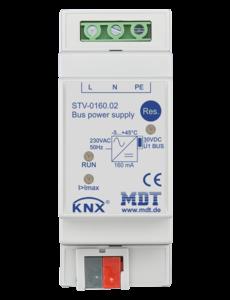 MDT 160mA KNX-busvoeding met geïntegreerde smoorspoel 2TE Dinral