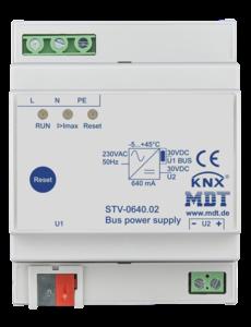 MDT 640mA KNX-busvoeding met geïntegreerde smoorspoel 4TE Dinral