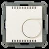 Kamertemperatuurregelaarmet instelwiel inb. 55 mm, zuiver wit mat