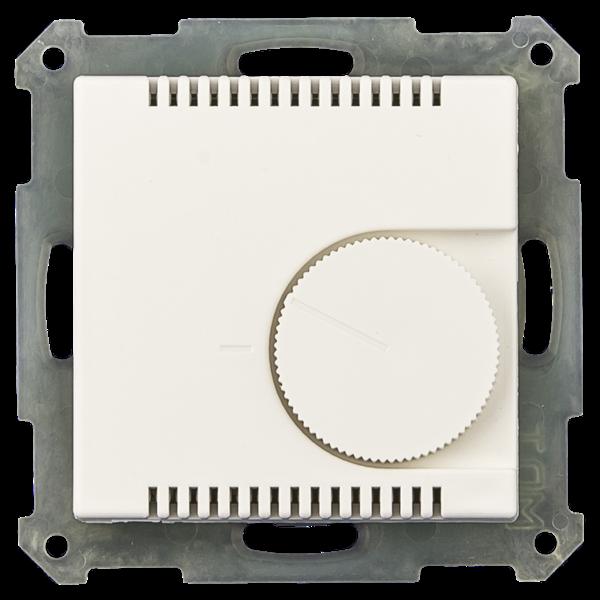 MDT Kamertemperatuurregelaarmet instelwiel inb. 55 mm, zuiver wit mat of glanzend
