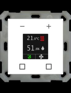 MDT Kamerthermostaat Smart 55 inb. 55 mm, zuiver wit  glanzend