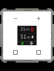 MDT Kamertemperatuur-uitbreidingsunit Smart 63 mm, studiowit  glanzend
