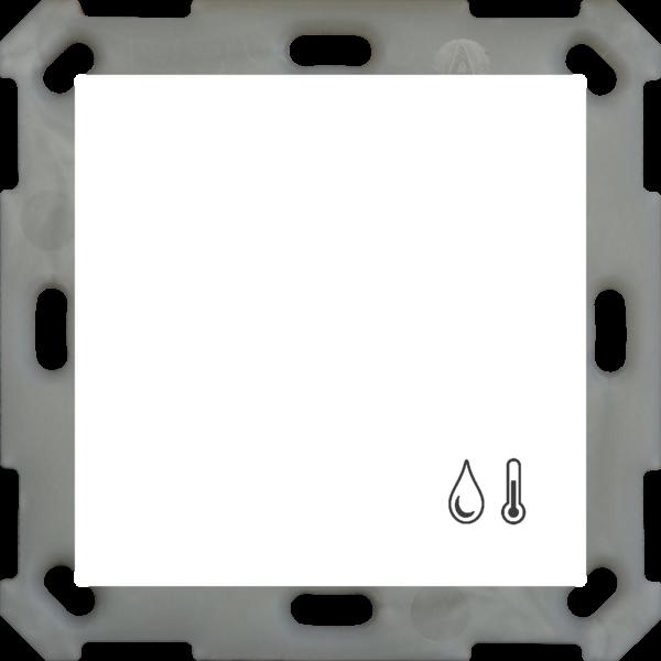 MDT Objectcontroller 55inbouw van 55 mm, zuiver wit glanzend