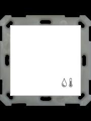 MDT Kamertemperatuur- / vochtigheidssensor 55 inbouw voor 55mm, zuiver wit glanzend