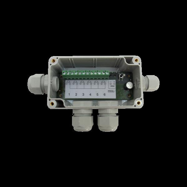 MDT 6 voudigeTemperatuurregelaar / sensor opbouw