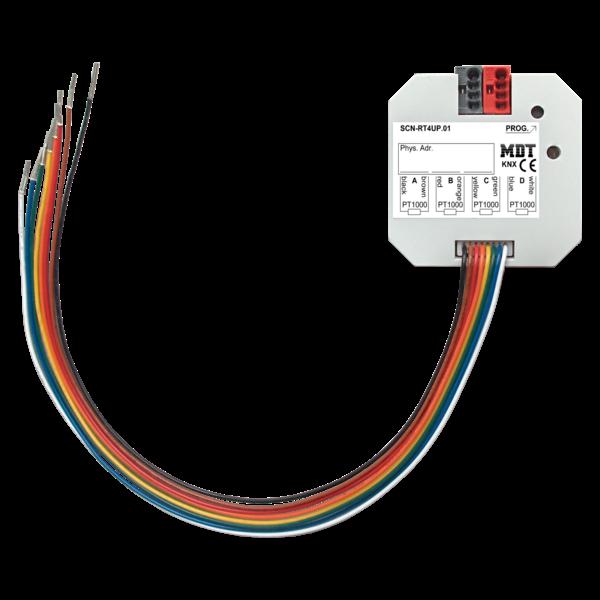 MDT 4 voudige Temperatuurregelaar / sensor inbouw