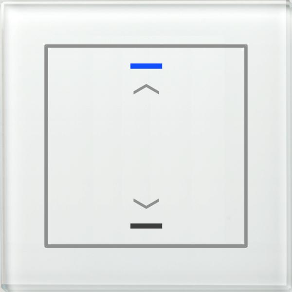 MDT Glastaster II Light 1-voudig  versie UP/Down-symbool