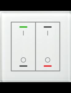 MDT Glastaster II Light 2-voudig I/O Symbol met temp. sensor