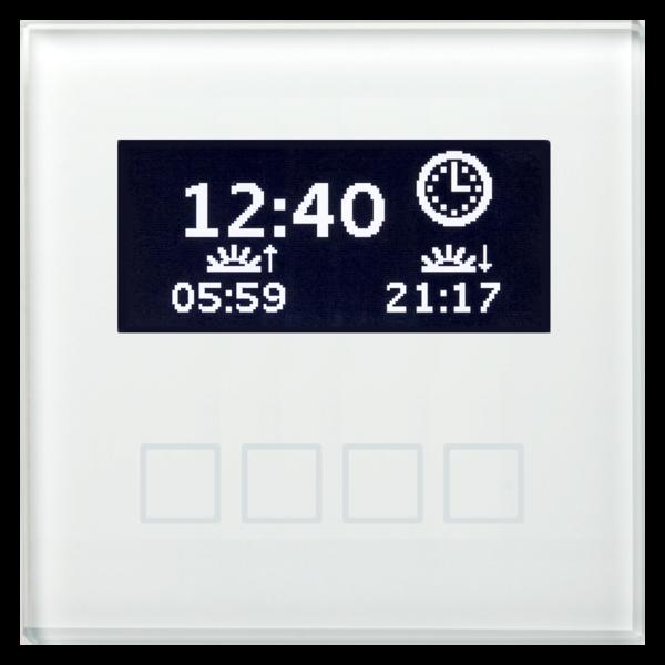 MDT MDT Glazen centrale bedieneenheid met LCD display
