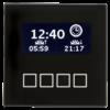 MDT Glazen centrale bedieneenheid zwart met LCD display