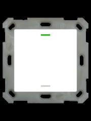 MDT Taster Light 55  1 voudig RGBW zuiver wit glanzende, NEUTRAAL versie