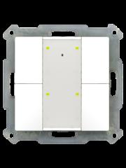 MDT Taster 55mm  4-voudig Plus Inbouw status- en oriëntatie-led