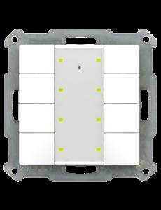 MDT Taster 55mm  8-voudig Plus Inbouw status- en oriëntatie-led