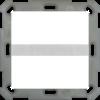 Bewegingsmelder / automatische schakelaar 55 Zuiver wit glanzend