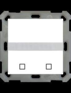 MDT Bewegingsmelder / automatische schakelaar 55 Zuiver wit glanzend, met temp.sensor en 2 sensorknoppen