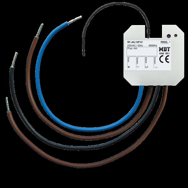 MDT KNX RF + rolluikactuator 1-voudigInb.  230VAC, 10A