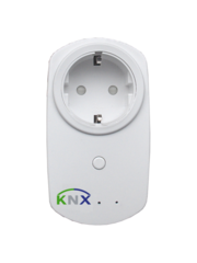MDT KNX RF + draadloze contactdoos 230VAC, 16A