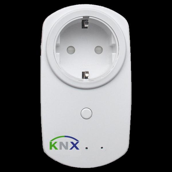 MDT KNX RF + Contactdoos met meting van actief vermogen230VAC, 16A