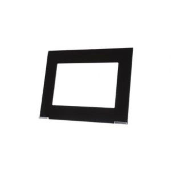 MDT Glazen afdekraam zwart geschikt voor VC0701.04 touchpanel