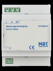 "MDT Voeding 4TE DRA accessoire voor Touchpanel VisuControl 7 ""/ 17,7 cm"