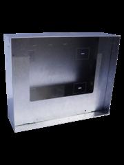 """MDT Inbouwdoos van metaal voor wandmontage VisuControl 10""""/25,6cm"""