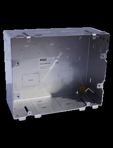 """MDT Inbouwdoos van metaal voor wandmontage Voor aanraakpaneel VisuControl 7 """"/ 17,7 cm  (bxhxd): 213 x 171 x 84 mm"""