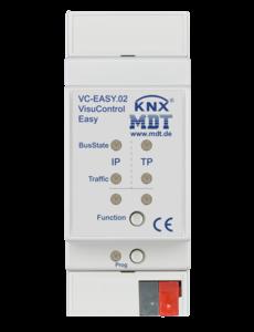 MDT VisuControl Easy objectserver  met iPhone / iPad-app 2TE DIN-rail