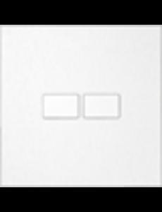 Ipas KNX Paneel  Largho 2-voudig met platte  knoppen
