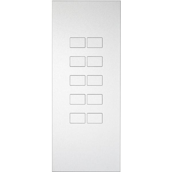 Ipas KNX Paneel  Largho 10 voudig met verhoogde knoppen (0,5 mm)