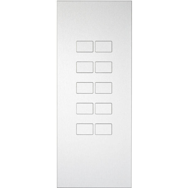 Ipas KNX Paneel  Largho 10-voudig met platte  knoppen