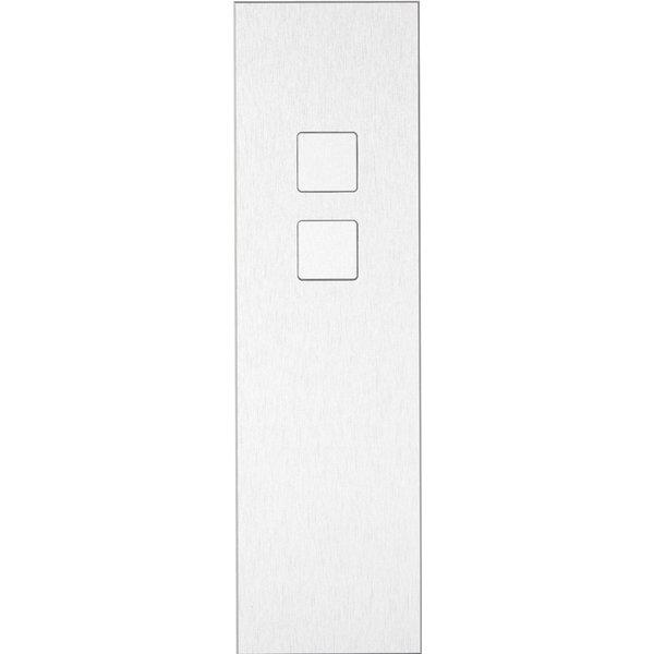 Ipas KNX Paneel Barchetto 2-voudig met verhoogde knoppen (0,5 mm)