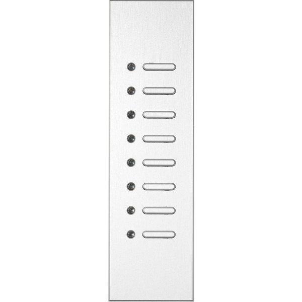 Ipas KNX Paneel Trico 8-voudig met verhoogde knoppen (0,5 mm)