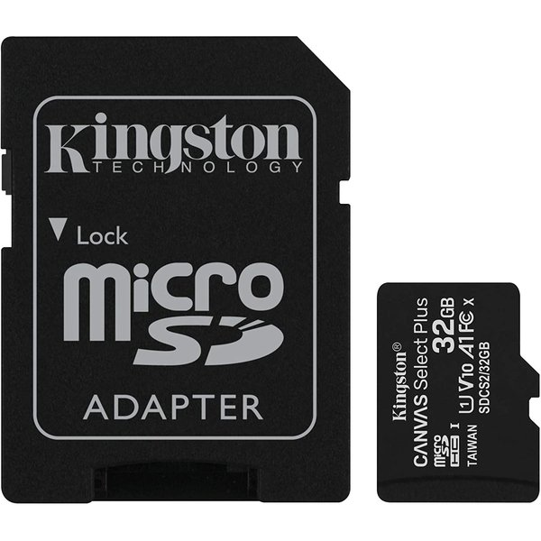 Kingston Canvas Select Plus microSDcard (32 GB)