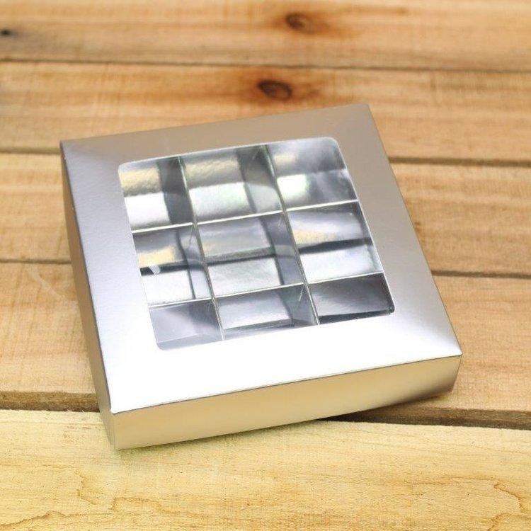 Mat zilver 113
