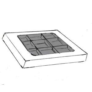 Zwart mat 118