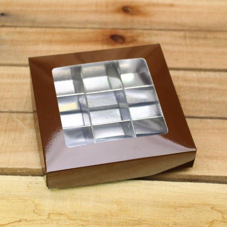 Chocoladebruin 186 - PMS 1545