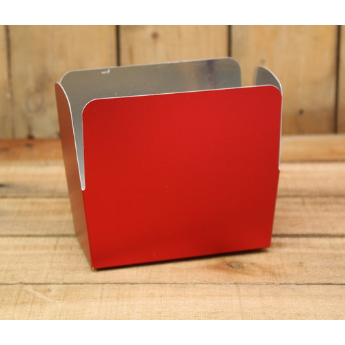 Rood metallic mat