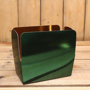 Kerst groen metallic