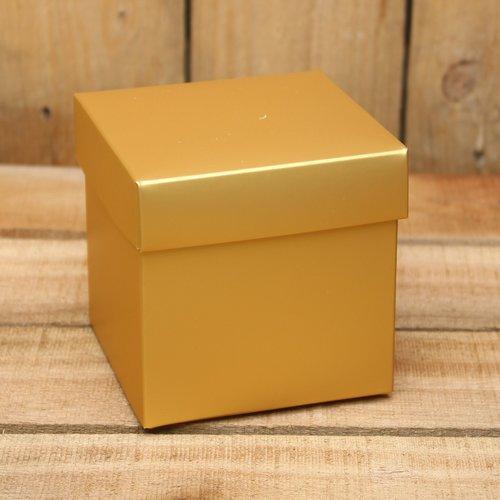 Goud metallic mat