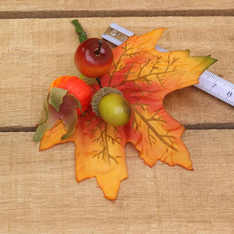 Blad herfstfruit