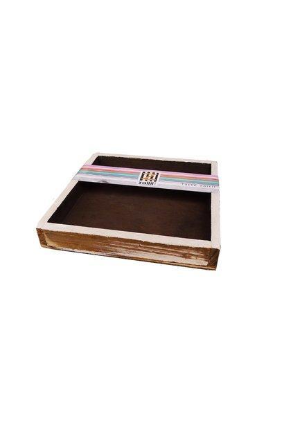 tray chocolade 20x20