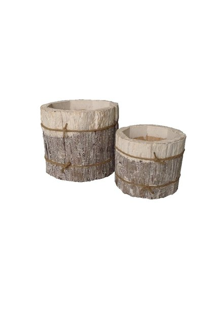 bark pot set