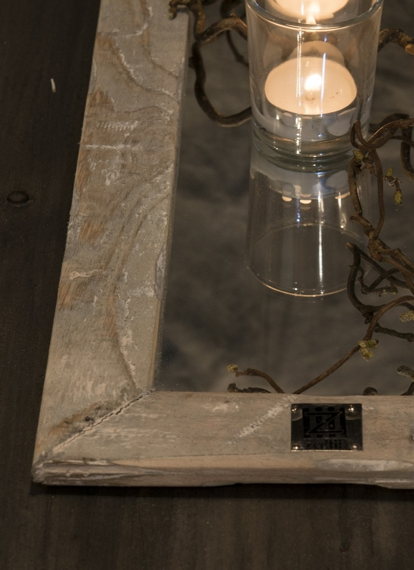 tray old dutch annette mirror 58/19-2