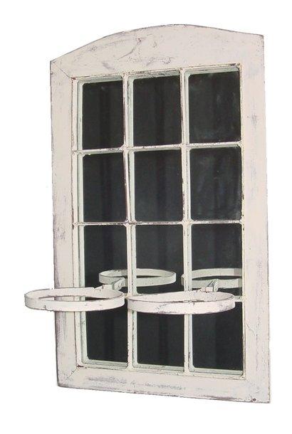 mirror with flowerpot holder