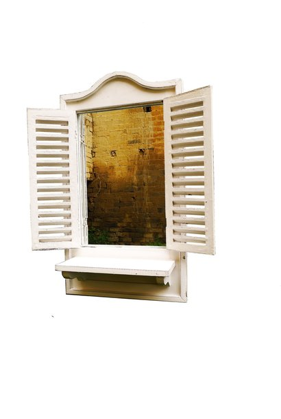 spiegel vensterbank